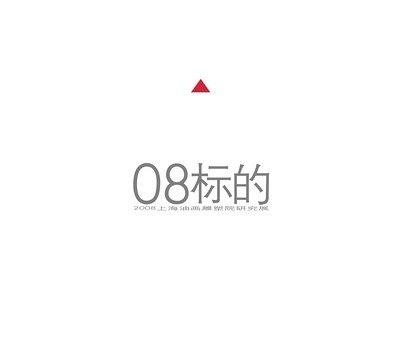 """""""08标的""""2008上海油画雕塑院研究展 (群展) @ARTLINKART展览海报"""