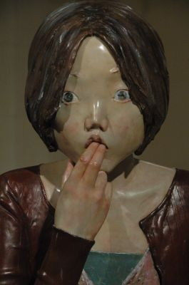 2005 (4) 雕塑, 玻璃钢, 1640x450x400mm 艺术家: 向京 雕塑, 玻璃钢