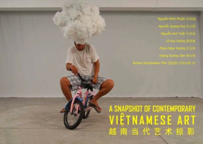 A SNAPSHOT OF CONTEMPORARY VIETNAMESE ART (group) @ARTLINKART, exhibition poster