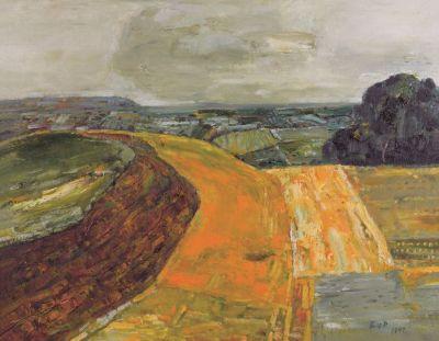 系列:风景 1997 (1) 绘画, 布面油画, 650x800mm 艺术家: 白羽平