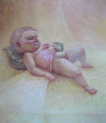 烂漫草狗——吕欣油画作品展 (个展) @ARTLINKART展览海报