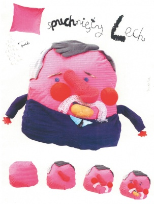 """波兰漫画杰作""""十三巨匠"""" (群展) @ARTLINKART展览海报"""