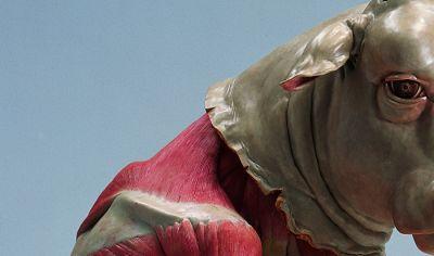 雕塑, 树脂,纤维等综合材料 艺术家: 曹晖 雕塑, 树脂,纤维等综合