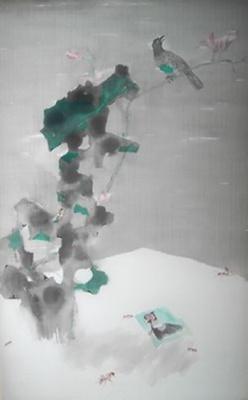 越远越近——罗青,涂少辉当代花鸟画联展 (群展) @ARTLINKART展览海报