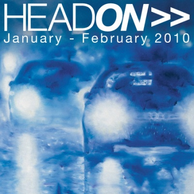 HEAD ON (group) @ARTLINKART, exhibition poster