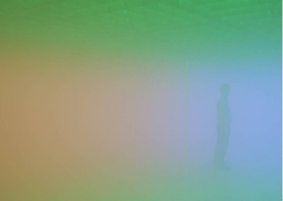 FEELINGS ARE FACTS - OLAFUR ELIASSON & MA YANSONG (group) @ARTLINKART, exhibition poster