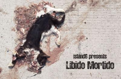 LIBIDO, MORTIDO (group) @ARTLINKART, exhibition poster