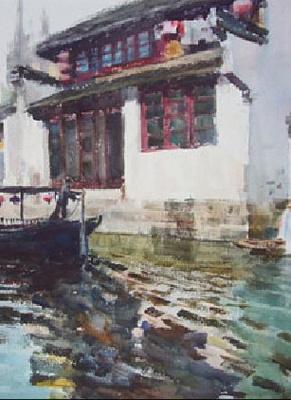 上海朱家角国际水彩画双年展 (群展) @ARTLINKART展览海报