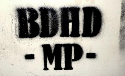 BIRDHEAD'S PATROL (group) @ARTLINKART, exhibition poster