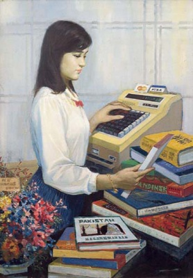 行者无疆——早期来深美术家六人画展 (群展) @ARTLINKART展览海报