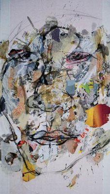 michael kvium blind painting