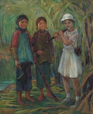 与共和国同行——谭雪生&徐坚白从艺六十年艺术展 (群展) @ARTLINKART展览海报