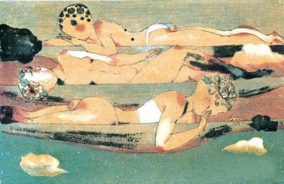洗心革面——穿越当代精神迷宫的中国版画艺术展 (群展) @ARTLINKART展览海报