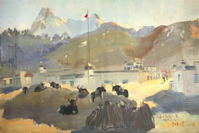 融合与创造Ⅱ——2010中国油画名家学术邀请展 (群展) @ARTLINKART展览海报