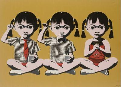 Thinking Cat Works Of Li Zhihong Exhibition Artlinkart