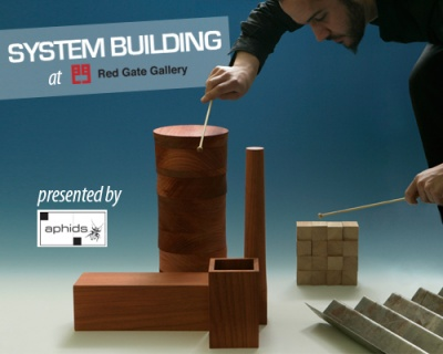 SYSTEM BUILDING - BEIJING (group) @ARTLINKART, exhibition poster
