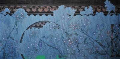 RéMY ARON & LIN RUOXI ART EXHIBITION (group) @ARTLINKART, exhibition poster