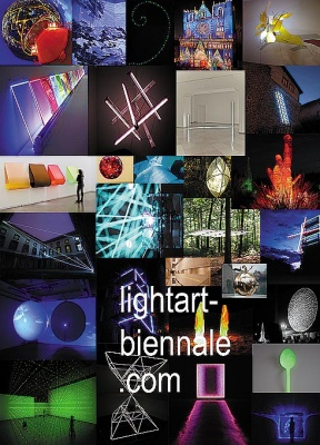 LIGHT ART BIENNIAL AUSTRIA 2010 (intl event) @ARTLINKART, exhibition poster