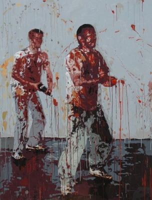 身份的游戏——奚建军+蔡元 (群展) @ARTLINKART展览海报