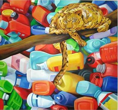 """EM ART OF ASIA""亚洲当代艺术展 (群展) @ARTLINKART展览海报"