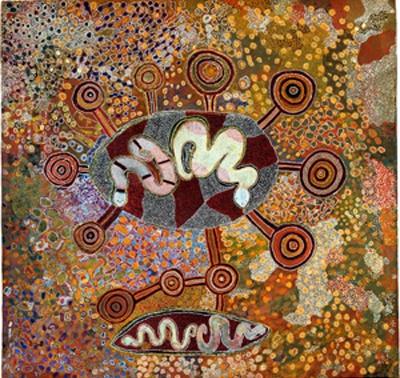 土地——身体:澳大利亚土著艺术展 (群展) @ARTLINKART展览海报
