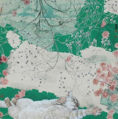 握手中国——雷米•艾融&林若熹巡回画展(首站) (群展) @ARTLINKART展览海报