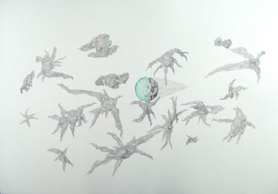 被折射的现实:梦幻世界,平行宇宙和形形色色的生命 (群展) @ARTLINKART展览海报