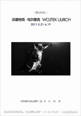 WOJTEK ULRICH SOLO EXHIBITION (solo) @ARTLINKART, exhibition poster