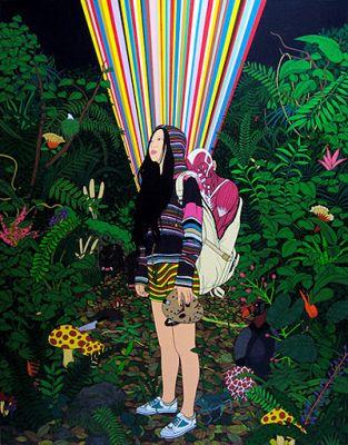 CHEN FEI SOLO EXHIBITION (solo) @ARTLINKART, exhibition poster