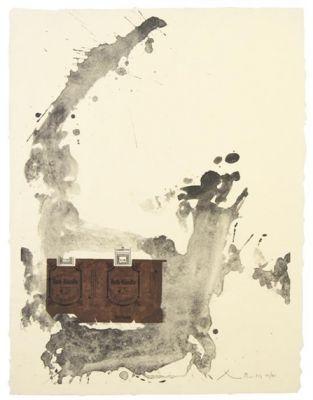 """1979 Vintage KANDINSKY /""""COMPOSITION IV/"""" FABULOUS COLOR offset Lithograph"""