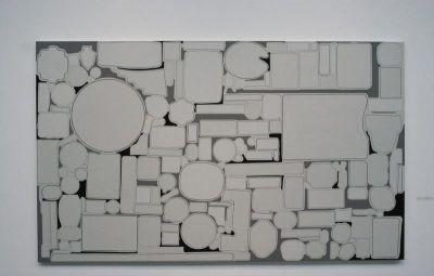 画廊平面图手绘