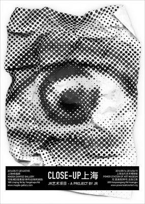 JR IN SHANGHAI (solo) @ARTLINKART, exhibition poster