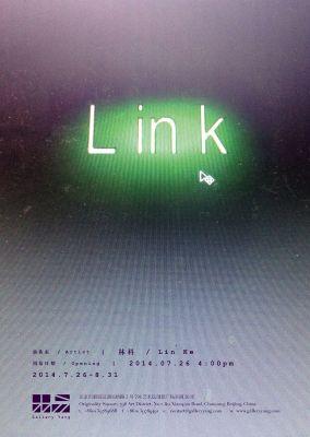 LINK (solo) @ARTLINKART, exhibition poster