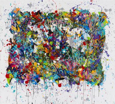 JONONE - SOLO SHOW (solo) @ARTLINKART, exhibition poster