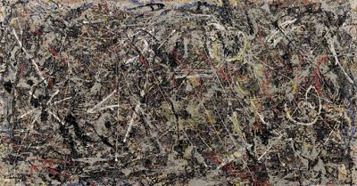 ALCHEMY BY JACKSON POLLOCK (solo) @ARTLINKART, exhibition poster