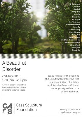 A BEAUTIFUL DISORDER (group) @ARTLINKART, exhibition poster