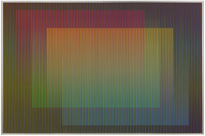 CARLOS CRUZ-DIEZ - CHROMATIC TRANSFIGURATION (solo) @ARTLINKART, exhibition poster