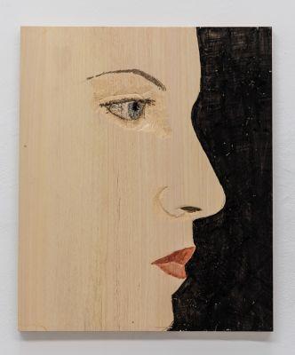 STEPHAN BALKENHOL - NEW WORK (solo) @ARTLINKART, exhibition poster