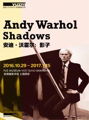ANDY WARHOL - SHADOWS (solo) @ARTLINKART, exhibition poster