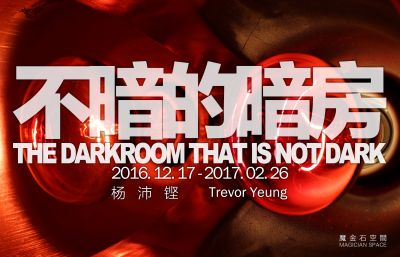 TREVOR YEUNG - THE DARKROOM THAT IS NOT DARK (solo) @ARTLINKART, exhibition poster