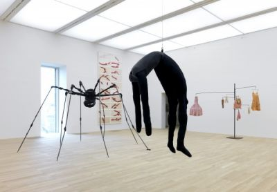 ARTIST ROOMS - LOUISE BOURGEOIS (solo) @ARTLINKART, exhibition poster