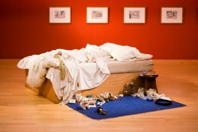 TRACEY EMIN AND WILLIAM BLAKE IN FOCUS (group) @ARTLINKART, exhibition poster