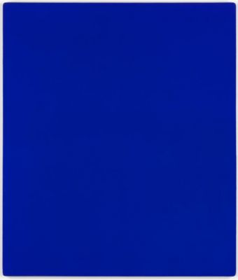 YVES KLEIN (solo) @ARTLINKART, exhibition poster