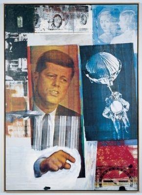 ROBERT RAUSCHENBERG (solo) @ARTLINKART, exhibition poster