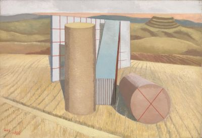 PAUL NASH (solo) @ARTLINKART, exhibition poster