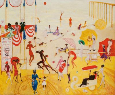 FLORINE STETTHEIMER - PAINTING POETRY (solo) @ARTLINKART, exhibition poster