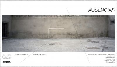 AUSENCIAS (group) @ARTLINKART, exhibition poster
