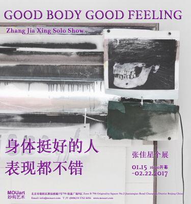 GOOD BODY GOOD FEELING - ZHANG JIA XING SOLO SHOW (solo) @ARTLINKART, exhibition poster