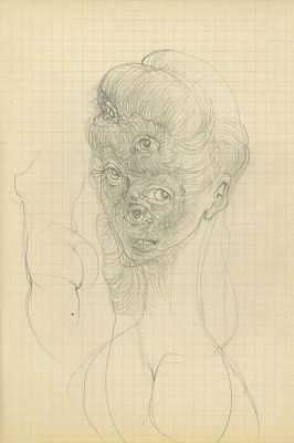 HANS BELLMER (solo) @ARTLINKART, exhibition poster