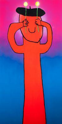SERIOUS WORKS - AUSTIN LEE (solo) @ARTLINKART, exhibition poster